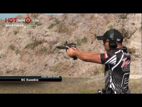 Speed Shooter Showdown - Max Michel vs. KC Eusebio - Clip from Hot Shots TV Show