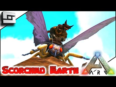 ARK: Scorched Earth - TAMING A LYMANTRIA/MOTH E5 ( Scorched Earth Map Gameplay )