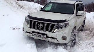 Снежный Дрифт на Володарке - 30 января 2016. Роман на 2,7 л и Андрей на 2,8 л (дизель)