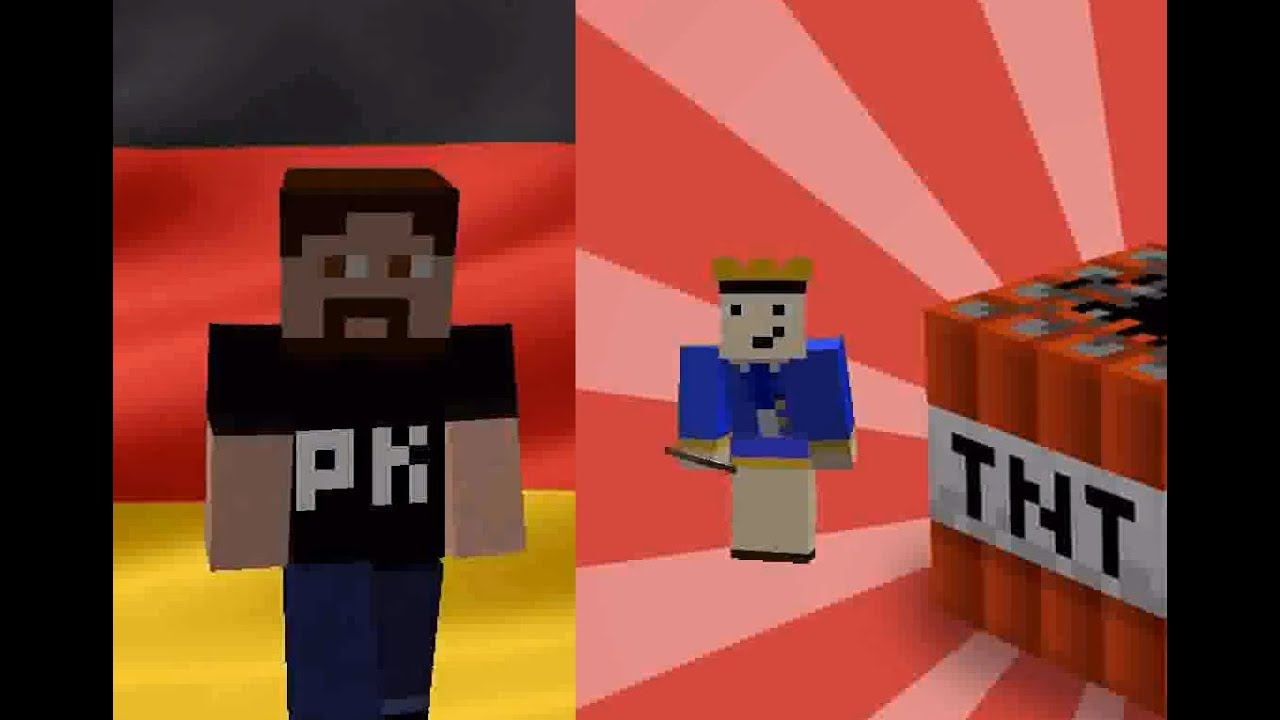 Epic Rap Battles Of Minecraft Gronkh Vs Gaylord Steambath Epic - Minecraft hauser gronkh