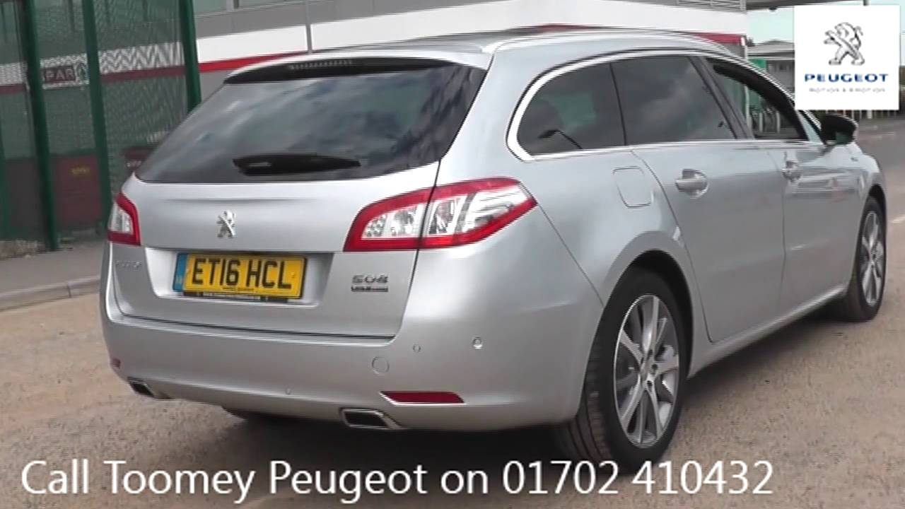 ET16HCL Peugeot 506 Used Peugeot 506 TOOMEY SOUTHEND - YouTube