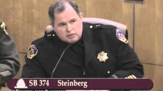 CA SB 374 for 2013 Part 08 - Sheriff Dean Wilson Witnesses in Opposition