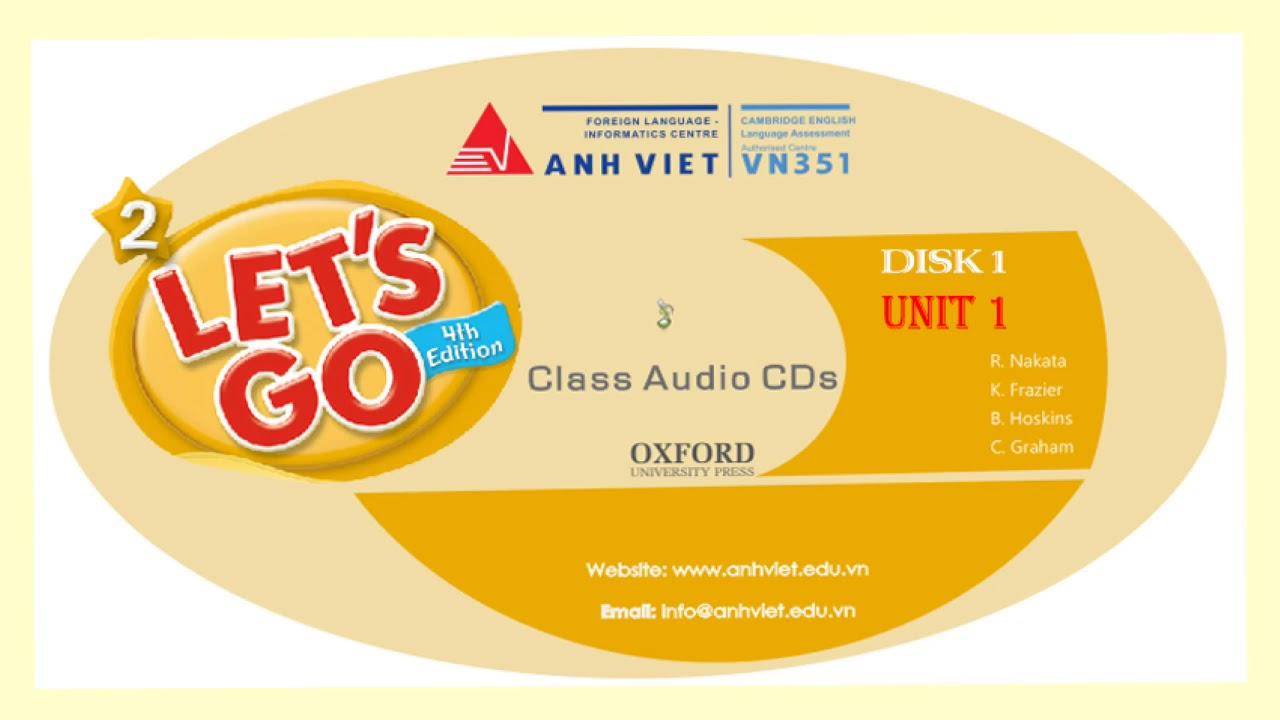 Download LET'S GO 2 - CD 1 - UNIT 1 -  26122018