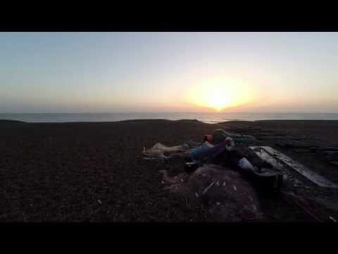 Aldeburgh, Suffolk Coast - Aerial Photography, Drone Video Footage at Sunrise