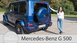2018 Mercedes-Benz G 500 (W 463) Fahrbericht / King Of(f) the Road - Autophorie