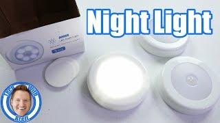 Amir Motion Sensor LED Night Light Tutorial