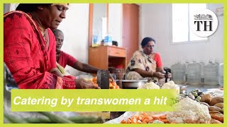 Catering unit by transwomen a big hit