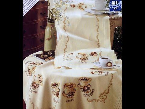 Вышивка схемы бесплатно скатерти