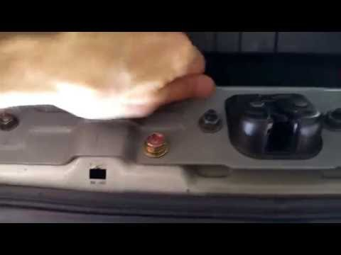 How to temporary fix your trunk if trunk latch/lock won't close 350Z G35 DIY