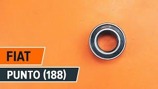 Ako vymeniť Lozisko kolesa FIAT PUNTO (188) - online zadarmo video