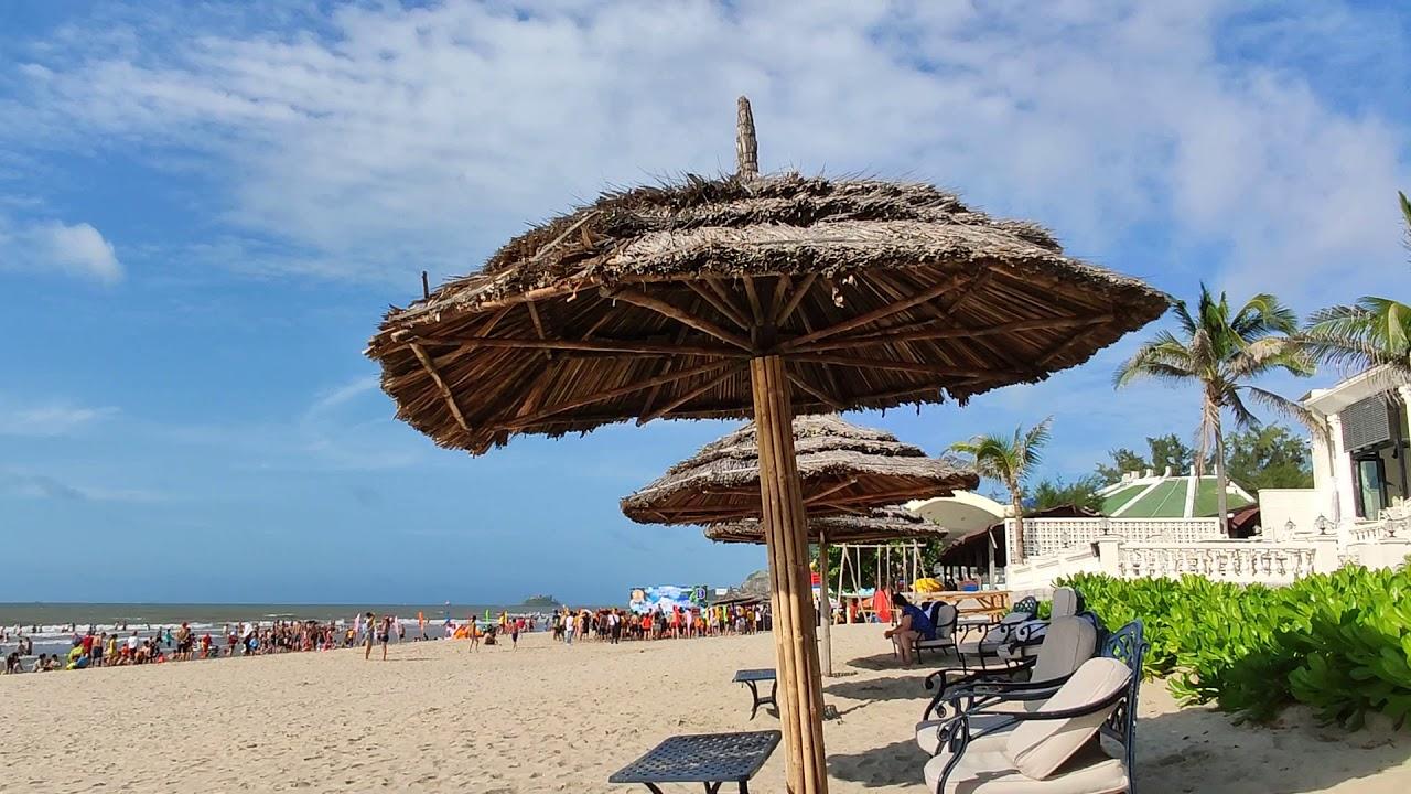 View biển từ hồ bơi bãi biển khách sạn Imperial Hotel Vũng Tàu