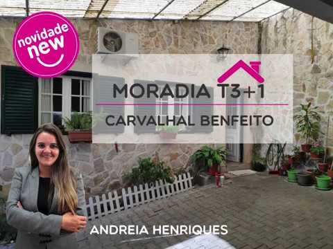 Moradia T3 + 1 - Carvalhal Benfeito