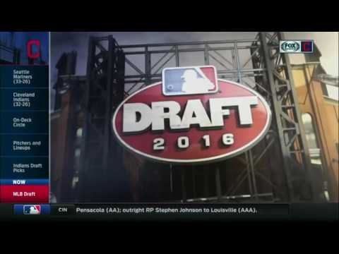 2016 MLB Draft: Cleveland Indians select Will Benson 14th overall