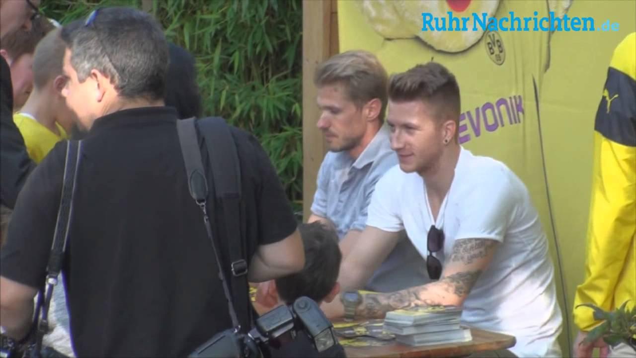 BVB KidsClub-Tag  im Dortmunder Zoo mit Reus und Kirch