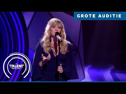 Anouk -  Stone Cold | The Talent Project 2018 | Grote auditie