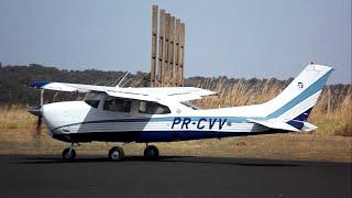 Decolagem - Cessna 210M Centurion - PR-CVV