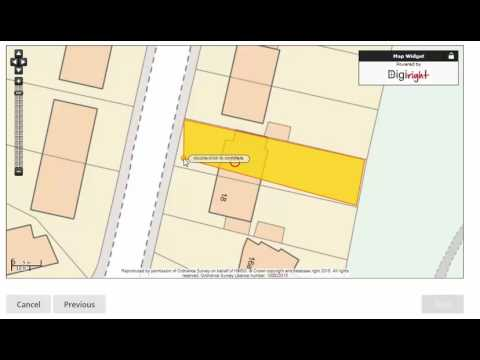 Coal Authority - How to draw a property boundary when ordering a mining report