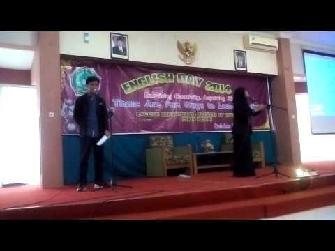 Juara 1 lomba puisi bahasa inggris, STAIN Kediri