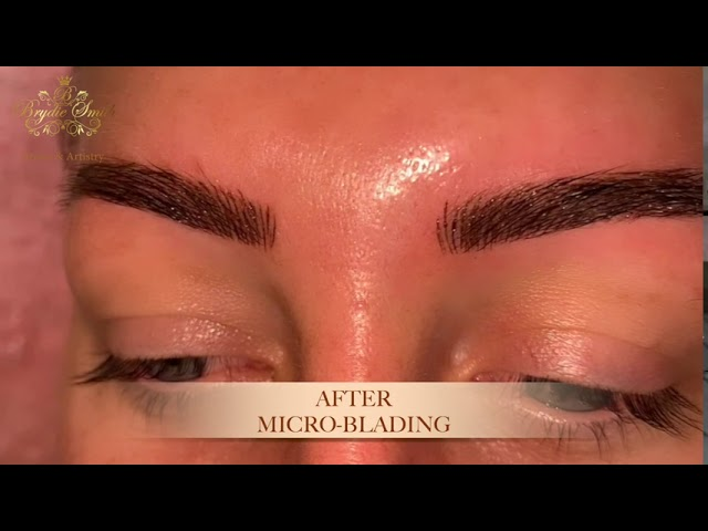 Microblading, Feather (Before & After) - Brydie Smith Brows & Artistry, Vid #1