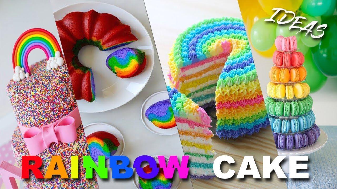 Amazing Rainbow Cake Decorating Ideas Best Rainbow Cake