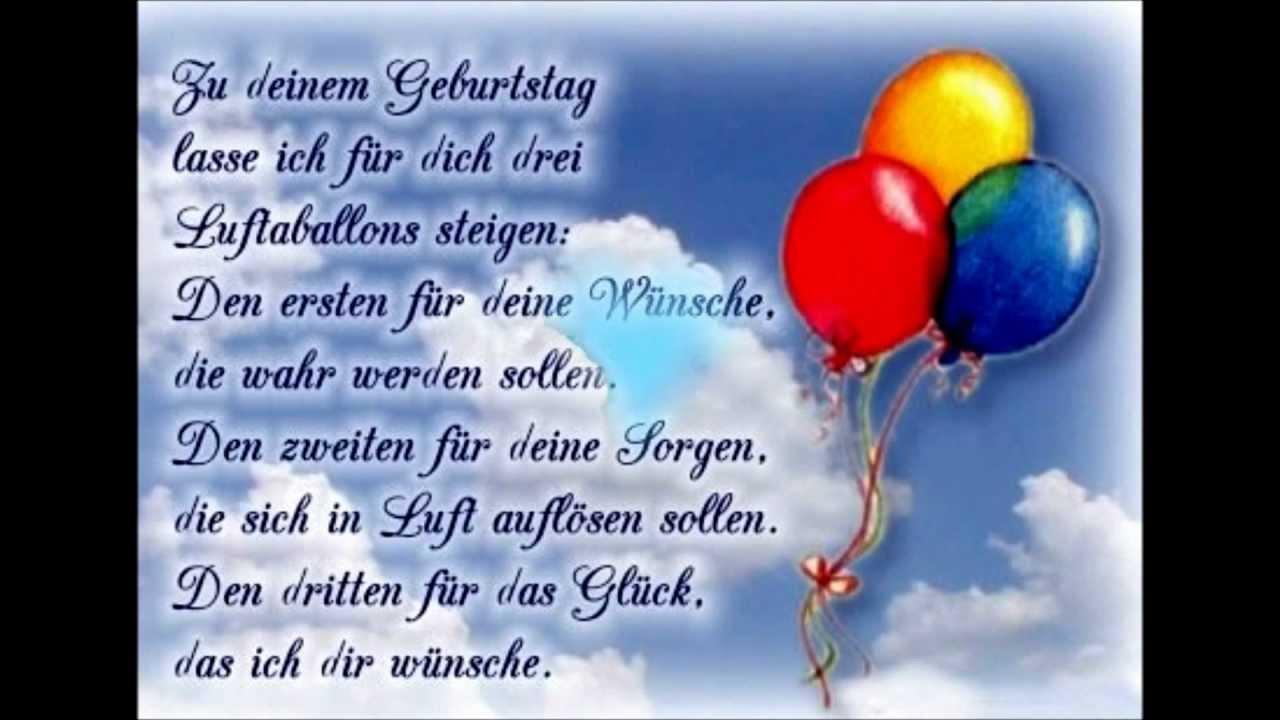 Поздравления детей на немецком