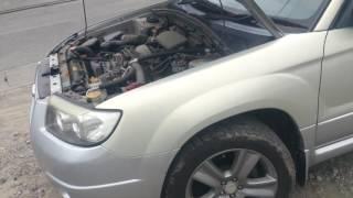 Видео-тест автомобиля Subaru Forester (SG5-093868 2005г)
