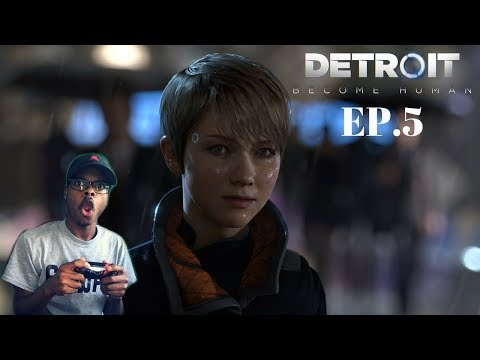 FREEDOM FOR ANDROIDS! | ImDontai Plays Detroit Become Human | EP.5