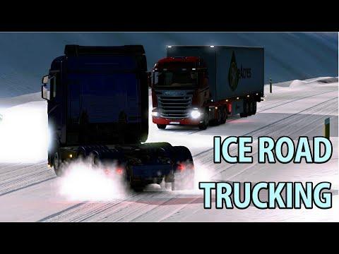 ICE ROAD TRUCKING   Heading To Reykjavik, Iceland   Part 7 - Euro Truck Simulator 2