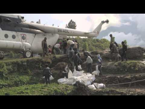 Nepal: WFP Delivers Food To Remote Villages In Gorkha District