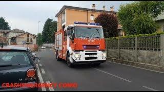 APS Vigili Del Fuoco Cantù in sirena // firefighter in  emergency thumbnail