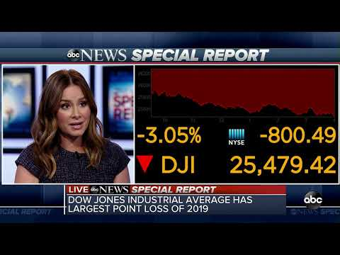 ABC News:Dow closes down more than 800 points as roller coaster in markets continues  | Special Report