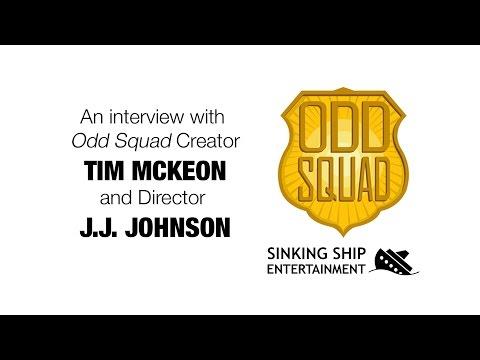 Interview with Odd Squad Creator Tim McKeon & Director J.J. Johnson