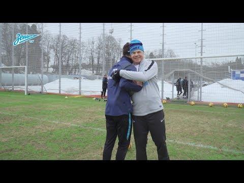 Медведев против Дзюбы: тренировка перед противостоянием