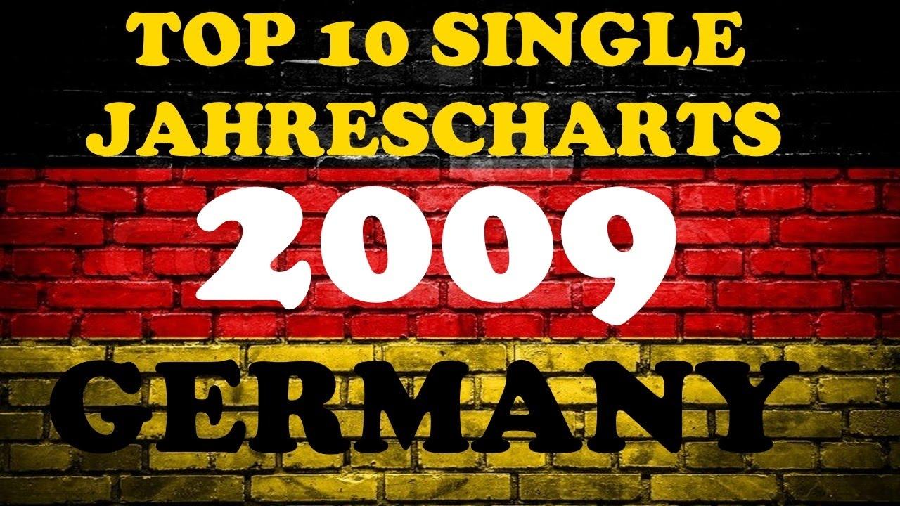 Top 10 Single Jahrescharts Deutschland 2009 Year End Charts Germany Chartexpress