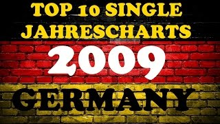 TOP 10 Single Jahrescharts Deutschland 2009 | Year-End Single Charts Germany | ChartExpress