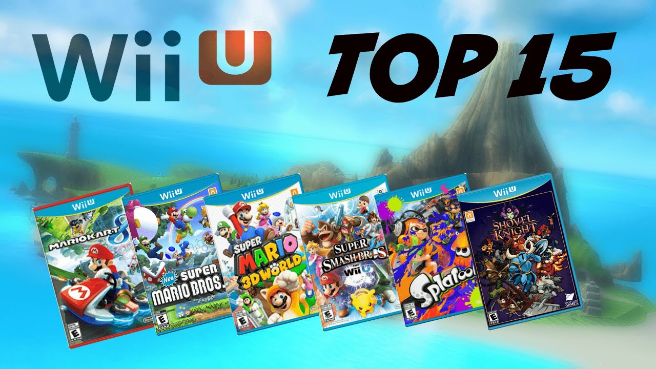 Top 15 Wii U Games Fall 2015 Youtube