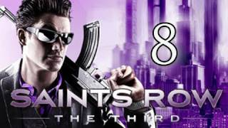 Saints Row 3 the Third Walkthrough - Pt 8 Tank Mayhem & Professor Genki's S.E.R.C.
