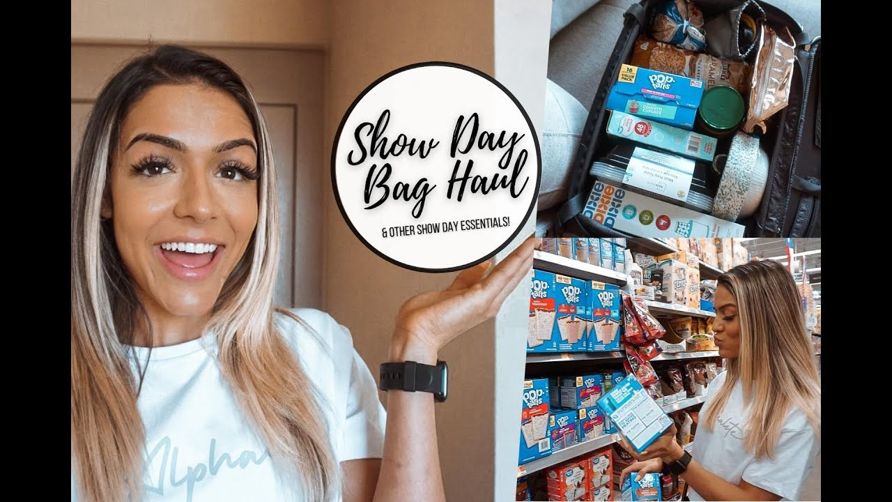 From Start to Stage Ep. 14   SHOW DAY BAG HAUL   What's In My Show Day Bag?