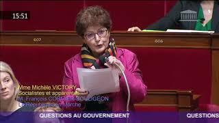 Situation en Algérie - Question de Michèle Victory