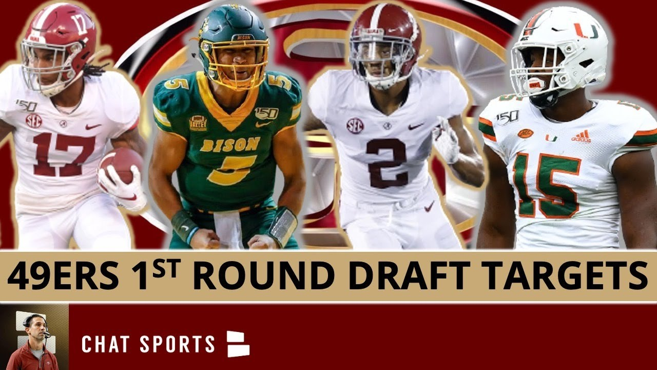 Download 10 San Francisco 49ers 2021 NFL Draft Targets With #12 Overall Pick Ft. Patrick Surtain & Trey Lance