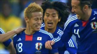 2010年W杯南アフリカ大会 日本代表ハイライト thumbnail
