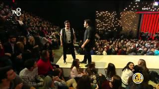 3 Adam - Eser ve İbrahim Seyircilerin Üzerine Koştular (2.Sezon 22.Bölüm)