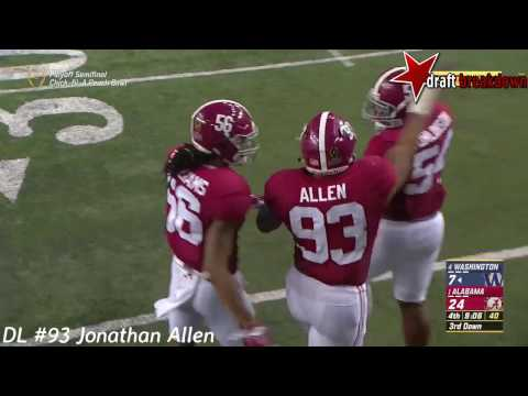 Jonathan Allen Vs Washington