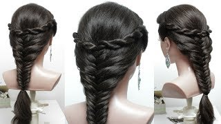 Simple & easy hairstyle for everyday. Hair tutorial