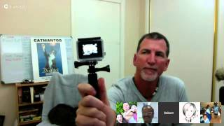 Repeat youtube video Living Maths Interview with Robert Dollwet and Didga the cat