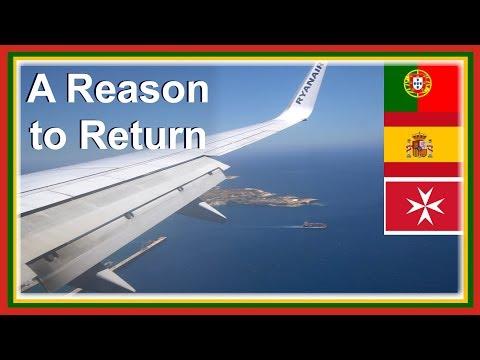 Europe Tour Portugal Espanha Malta - 3 Beautiful Countries Of Europe In 24 Hours