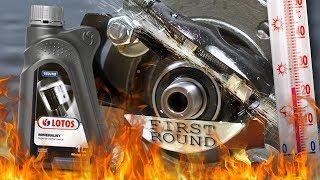 Lotos 15W40 Jak skutecznie olej chroni silnik? 100°C