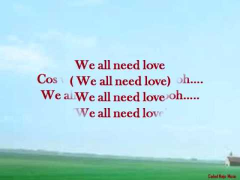 Frank Edwards - We All Need Love