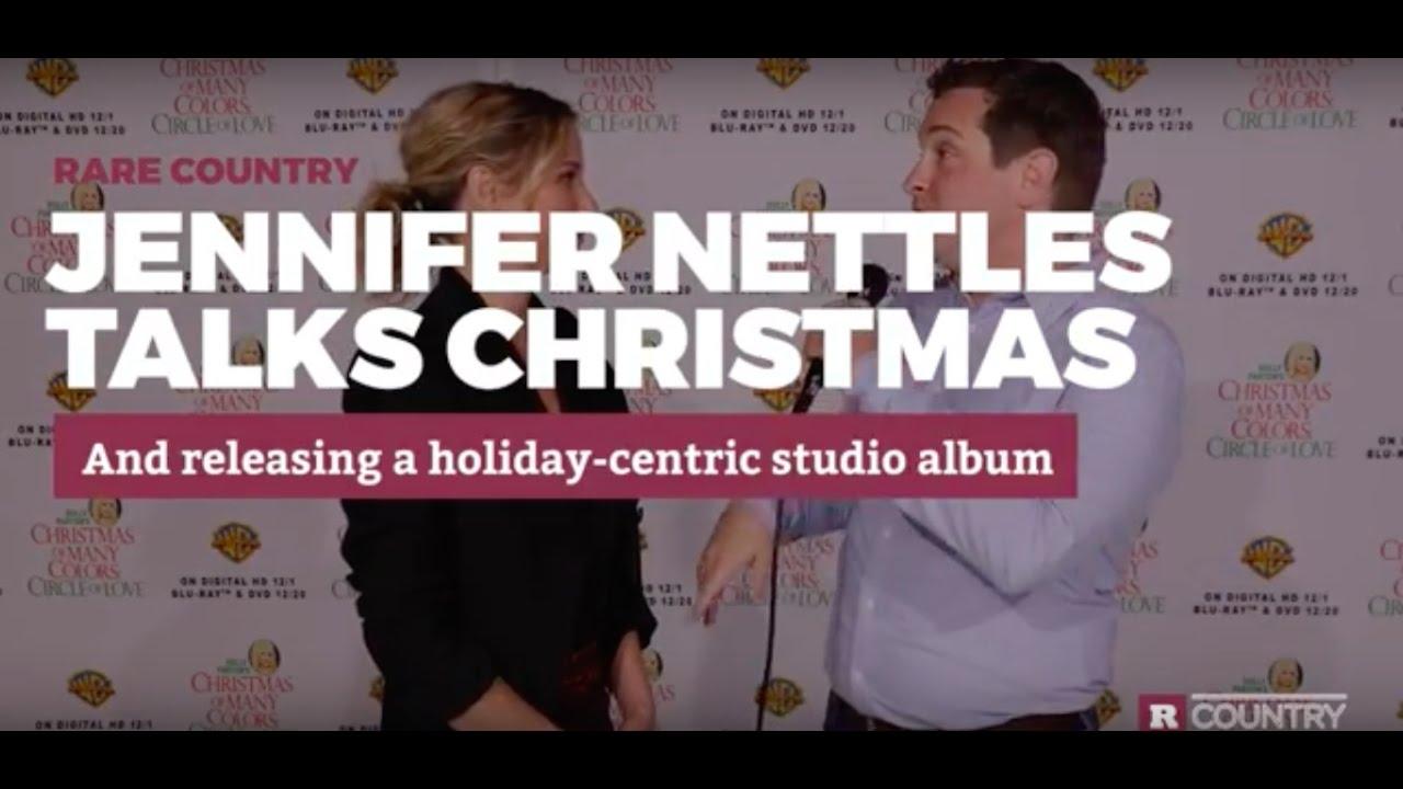 Jennifer Nettles Talks About Her Upcoming Christmas Album - YouTube