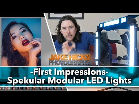First Impressions - Spekular Modular LED Lighting Video